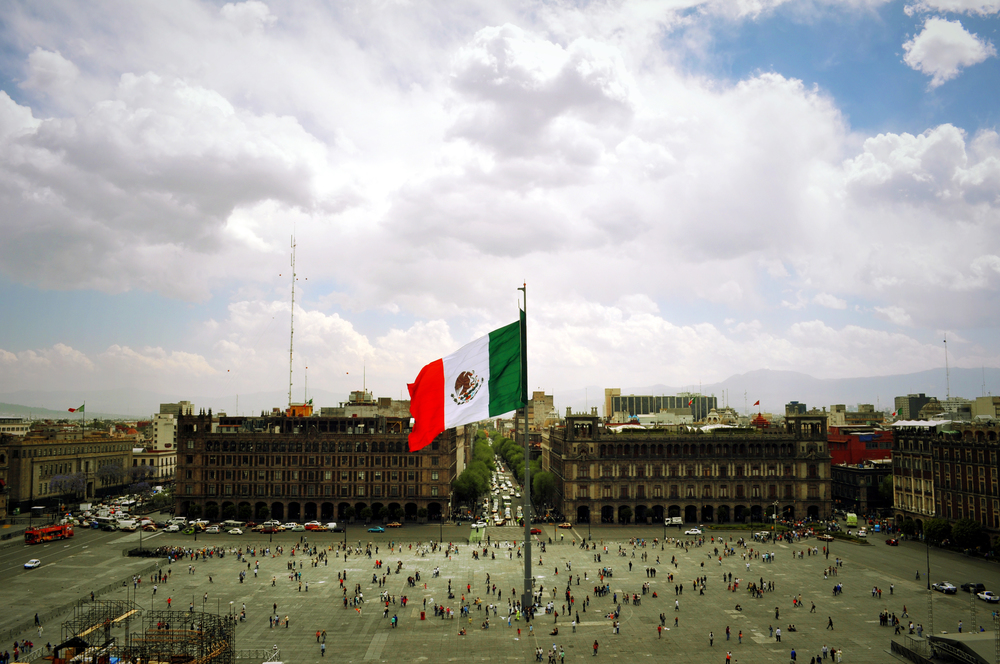 Heart of Mexico City