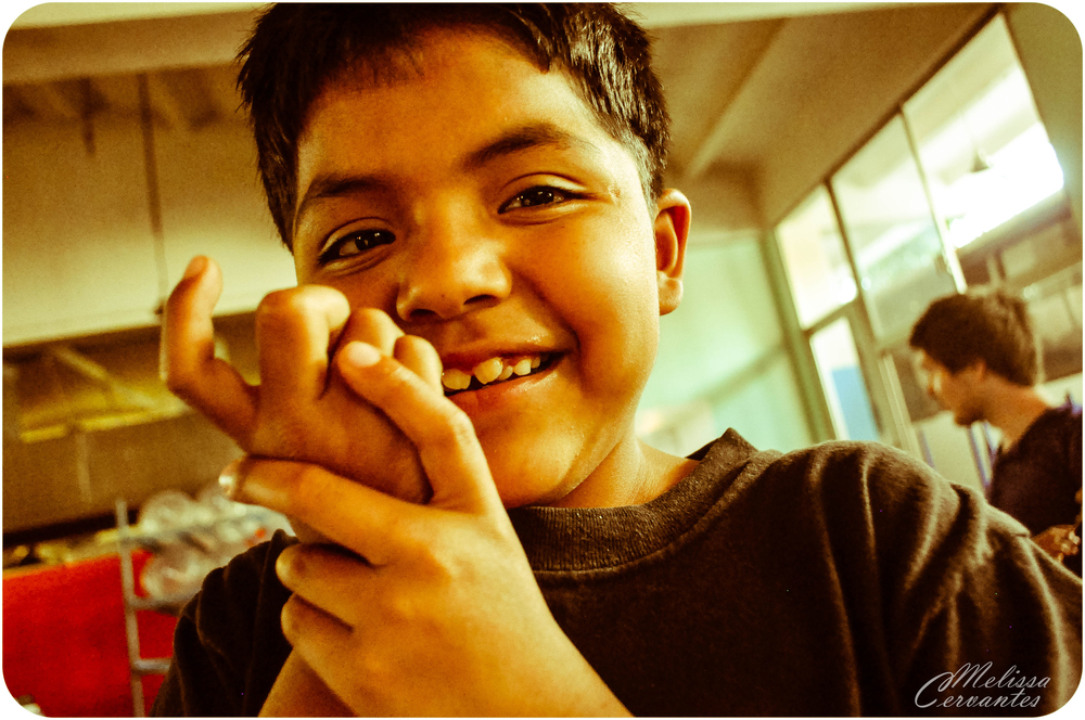 Jorge, 8 years old. Ministerios de Amor boys home in Mexico City.