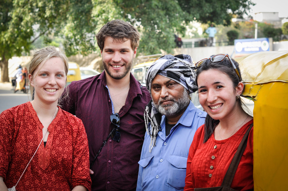 It's been amazing to get to know the Indian people. Delhi, India
