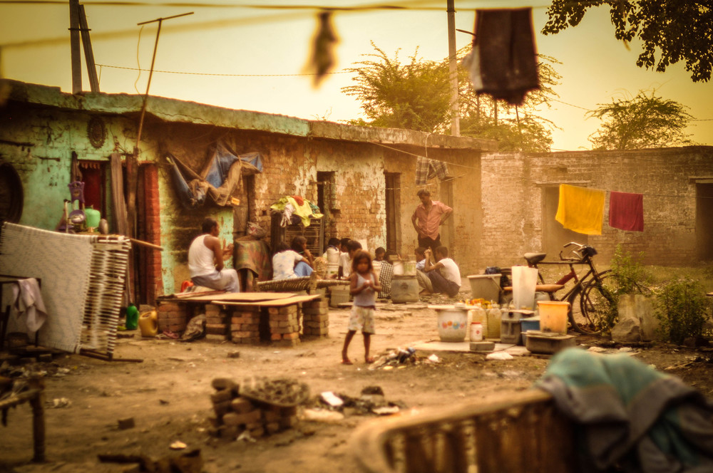 Jasola Slum, India