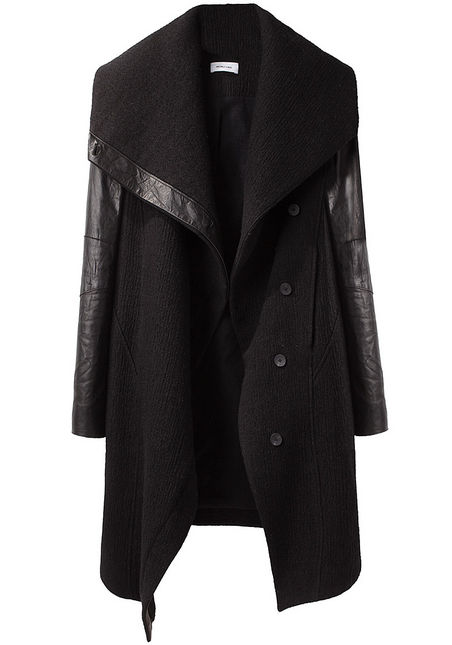 a Helmut Lang coat from La Garconne