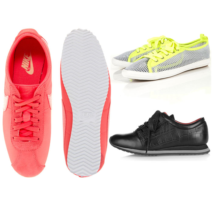 Sneak-y Sneakers and Trainers