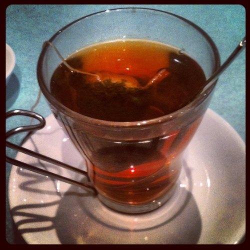 Second Floor Flat—cup of tea