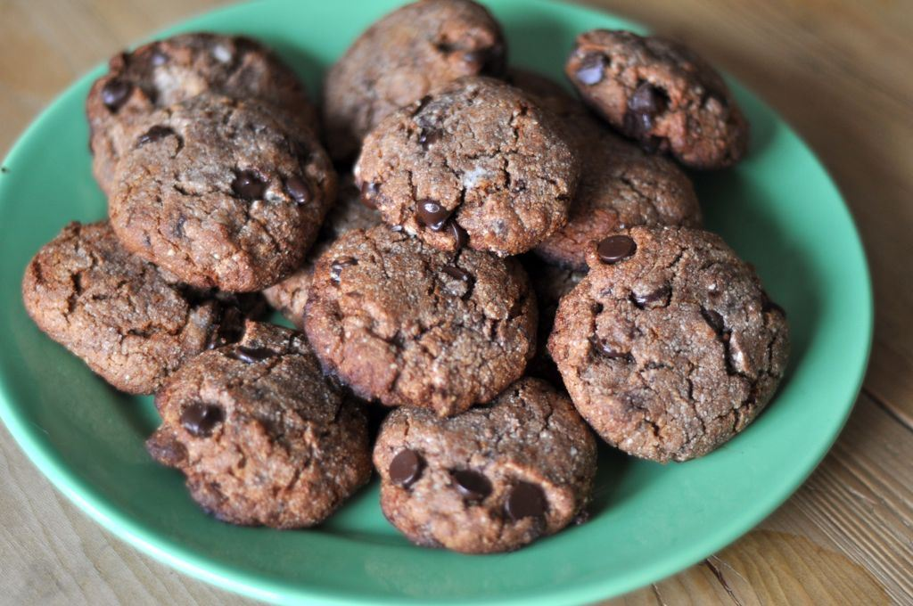 Second Floor Flat—Gluten Free Holiday Chocolate Chip Cookies