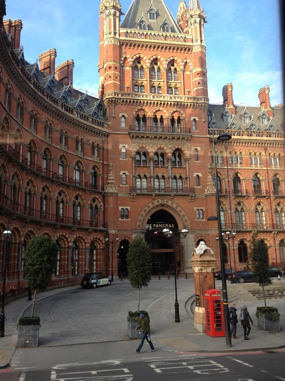 London St. Pancras Renaissance Hotel