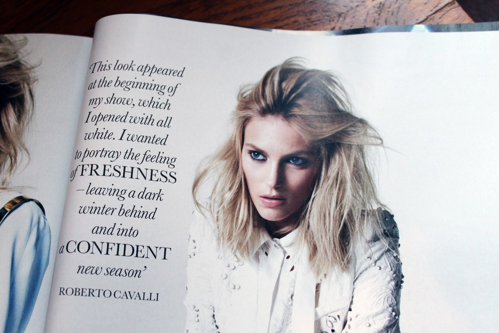 Spring fashion trends in British Elle