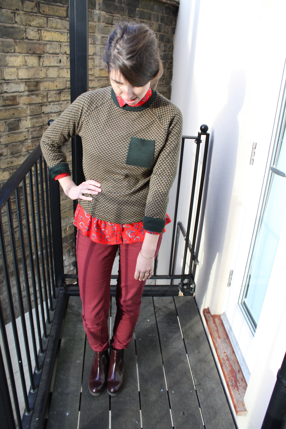 Chic and Really Cheap - Daily Outfit / Second Floor Flat