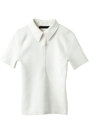 Second Floor Flat - Perfect White Polo