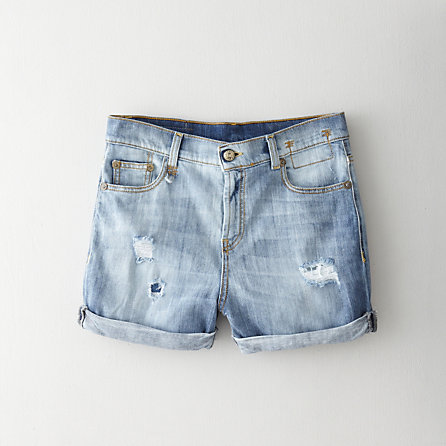 R13 Cut-Off Denim Shorts - Second Floor Flat