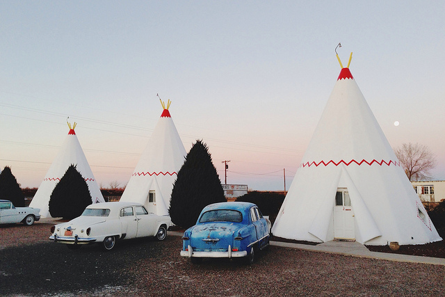 Wigwam Motel , Arizona / Second Floor Flat