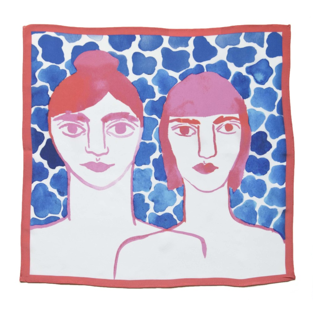Leah Goren Scarf / Second Floor Flat