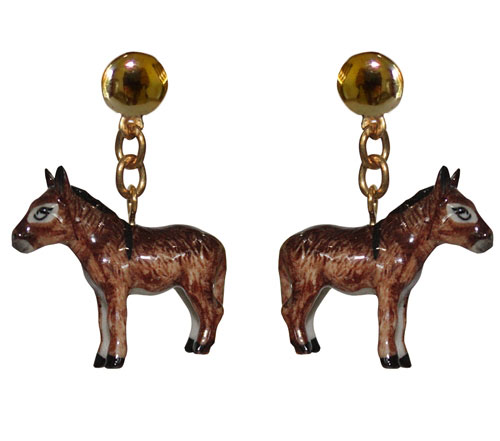 Nach Jewelry - Donkey Earrings / Second Floor Flat