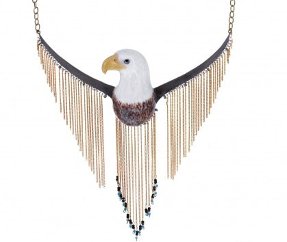 Nach Jewelry - Eagle Necklace / Second Floor Flat