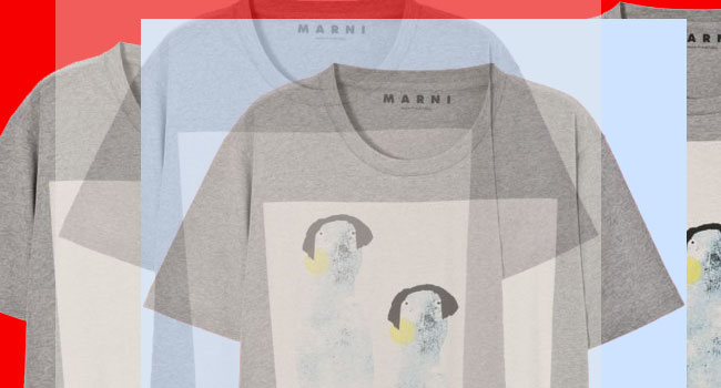 Marni T-Shirt / Mood Board / Second Floor Flat