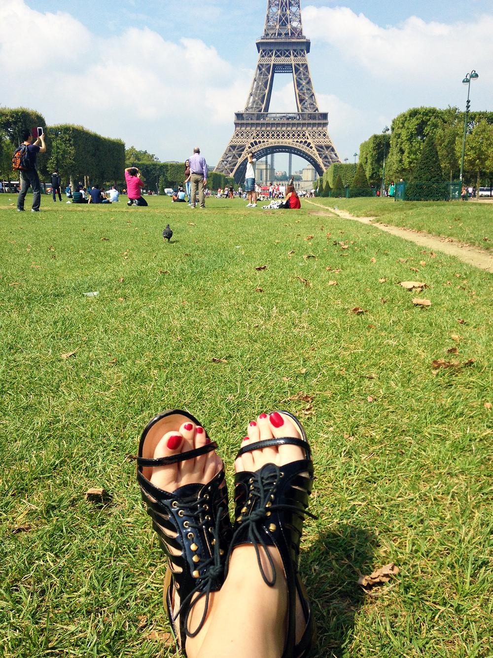 Eiffel Tower, Paris / Second Floor Flat