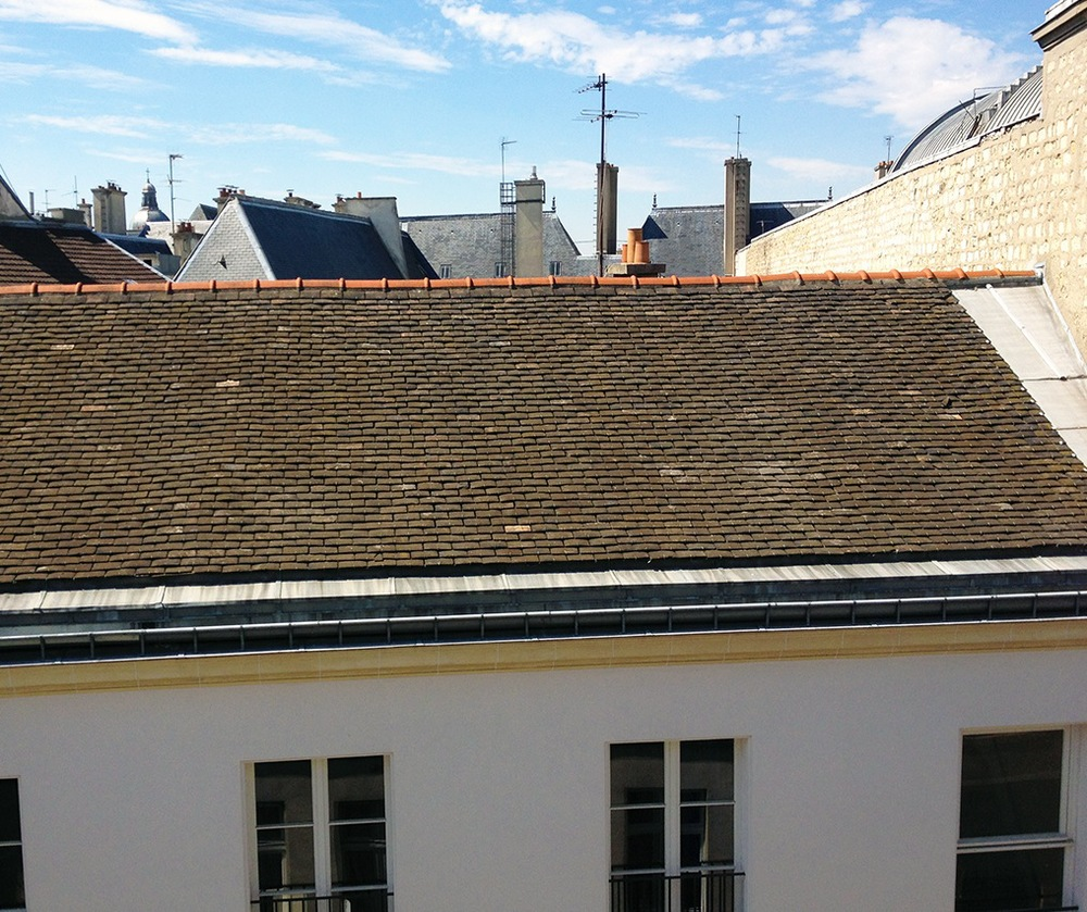 Rooftops in Le Marais / Second Floor Flat