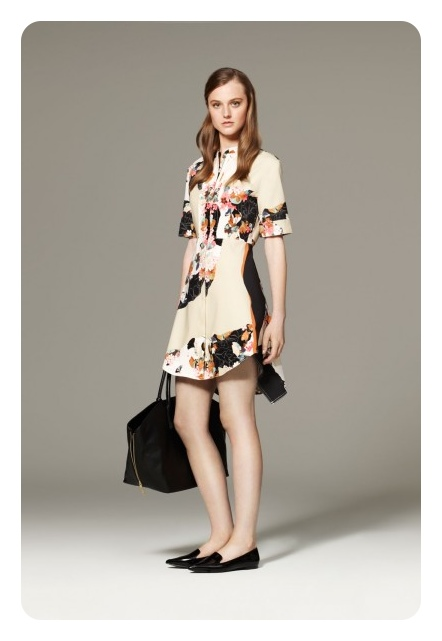Phillip Lim for Target Floral Dress / Second Floor Flat