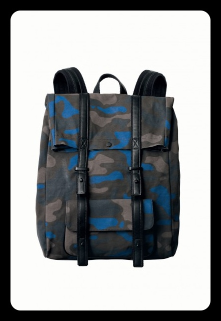 Phillip Lim for Target Camo Backpack / Second Floor Flat