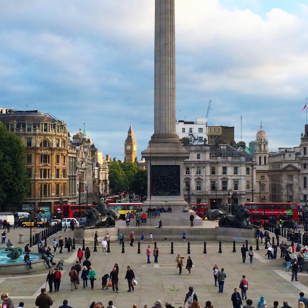 Trafalgar Square, London   secondfloorflat.com