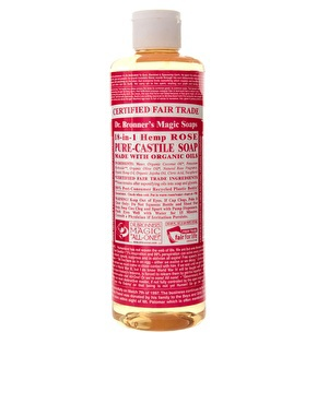 Beauty Box / Dr. Bronner Organic Rose Castile Liquid Soap // Second Floor Flat