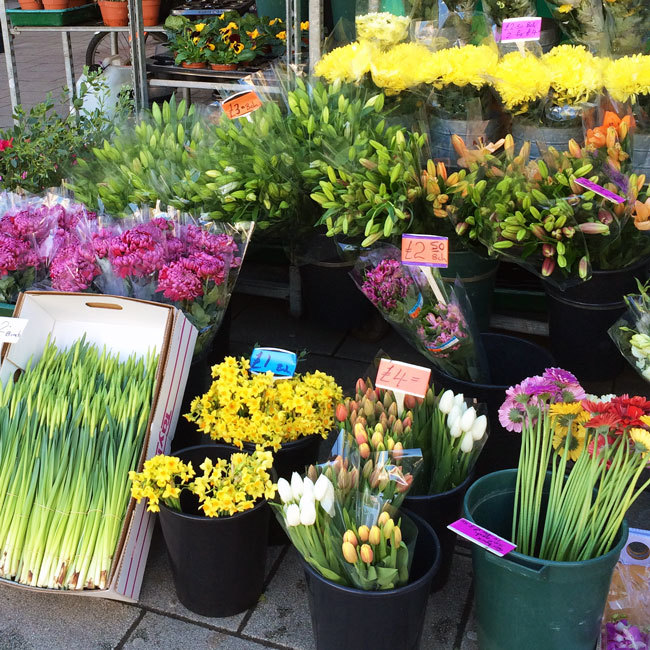 Flower Stall / Things To See In London // Second Floor Flat