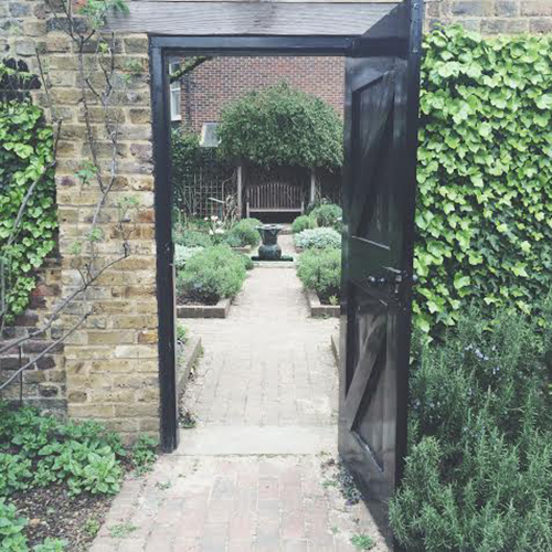 herb garden, Geffrye Museum, London | secondfloorflat.com