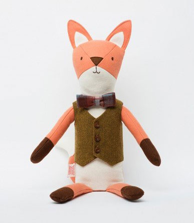 Shopping List: Henry The Fox by Walnut Animal Society | Second Floor Flat