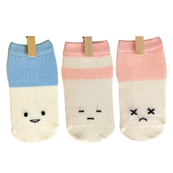 BABY SOCKS GIFT BOX BY PETITES PATTES