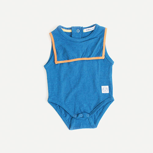 AHOY SAILOR STYLE ONESIE BY INDIKIDUAL