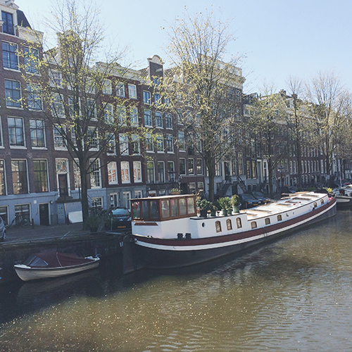 An American In: Amsterdam | Second Floor Flat