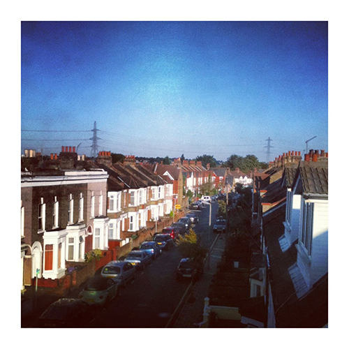 Second Floor Flat, London, window view