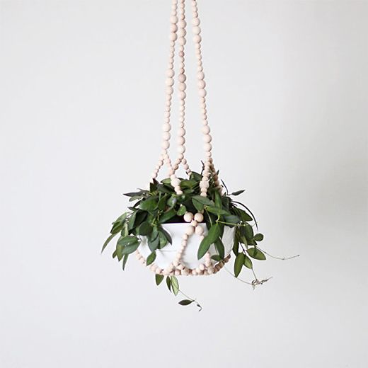 Beaded Hanging Plant by HRUSKAA