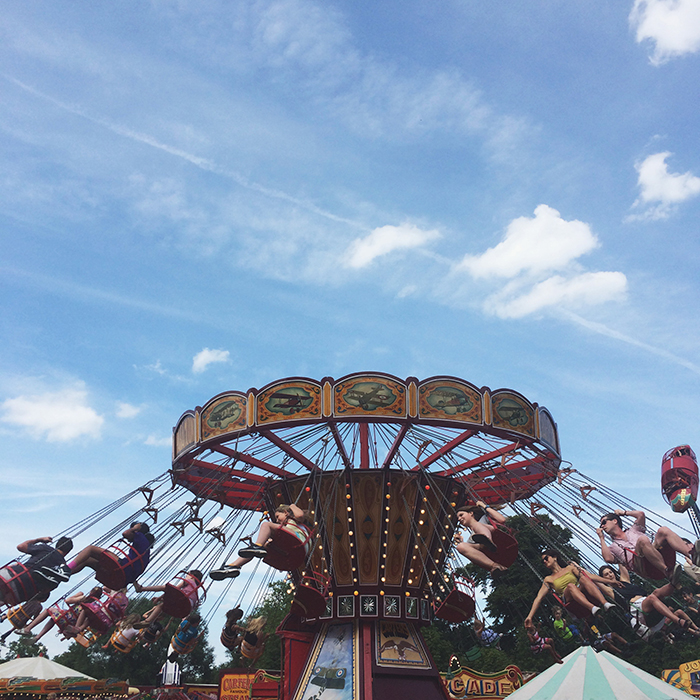 steam fair, Clissold Park, Stoke Newington