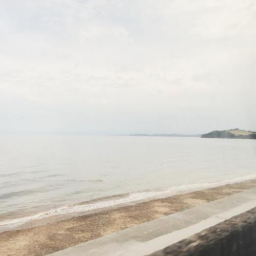 Taken along the coast of Devon, England, earlier this summer