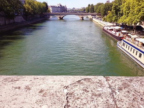 Along the Seine, Paris | Second Floor Flat