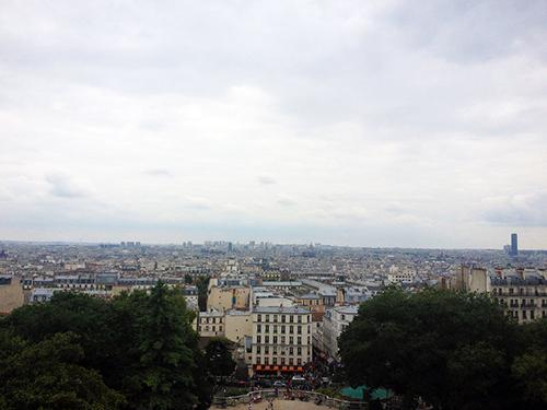 Paris from Montmartre | Second Floor Flat