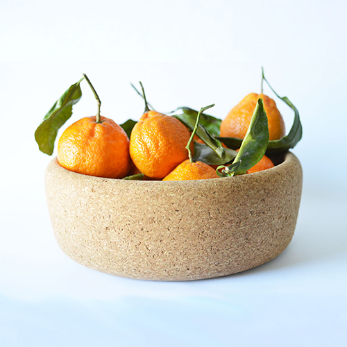 Large Cork Bowl by Melanie Abrantes