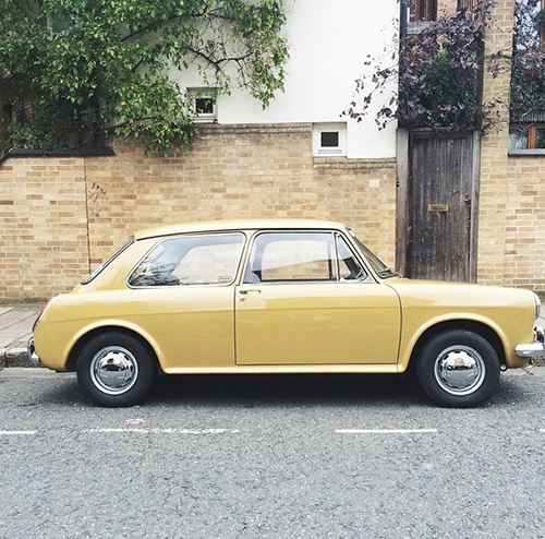 classic car in North London