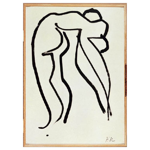 The Acrobat, Matisse, 1952