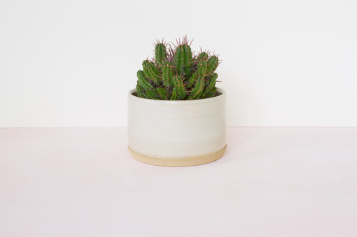 Stoneware Pot by Line Line Co.