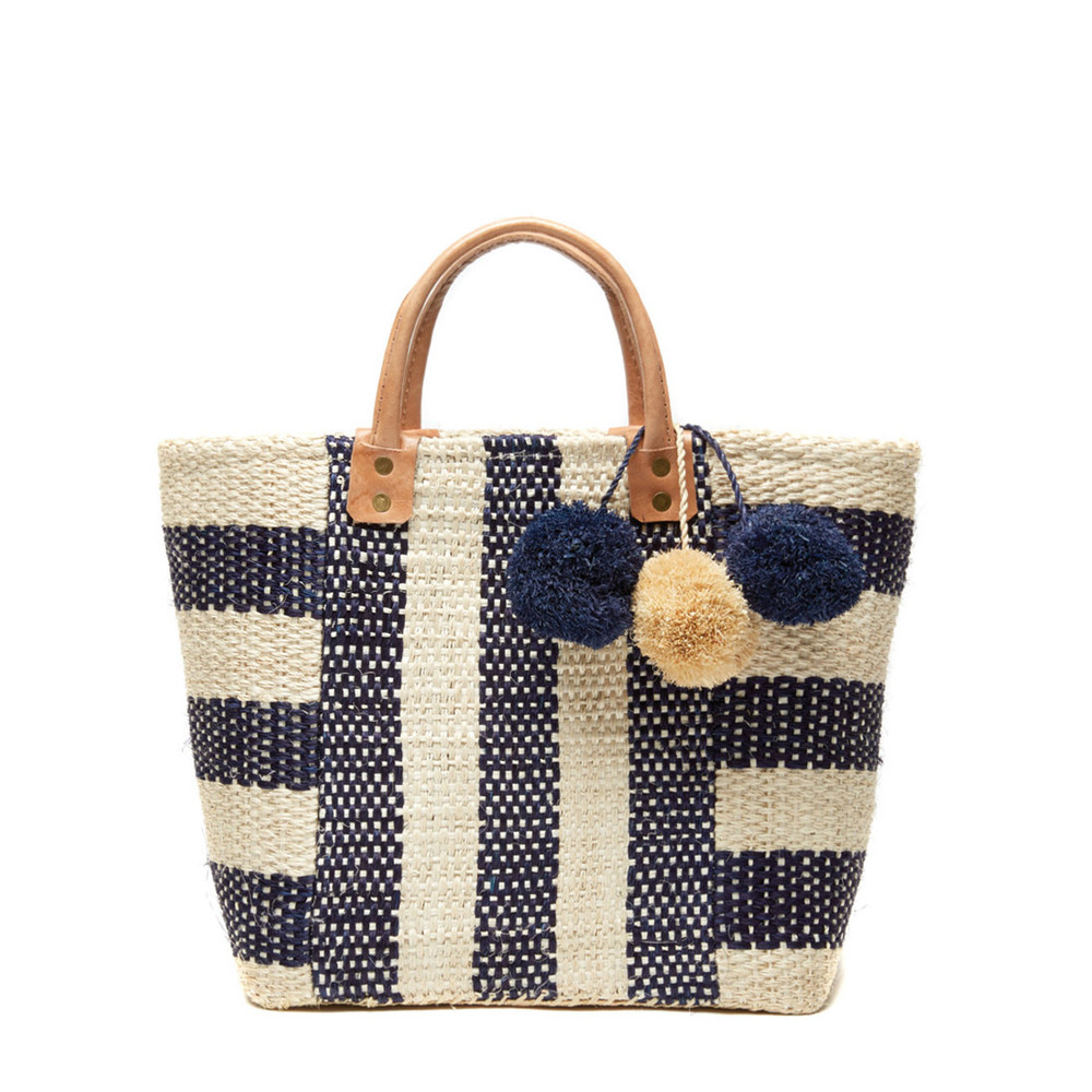 Collins Woven Basket Tote
