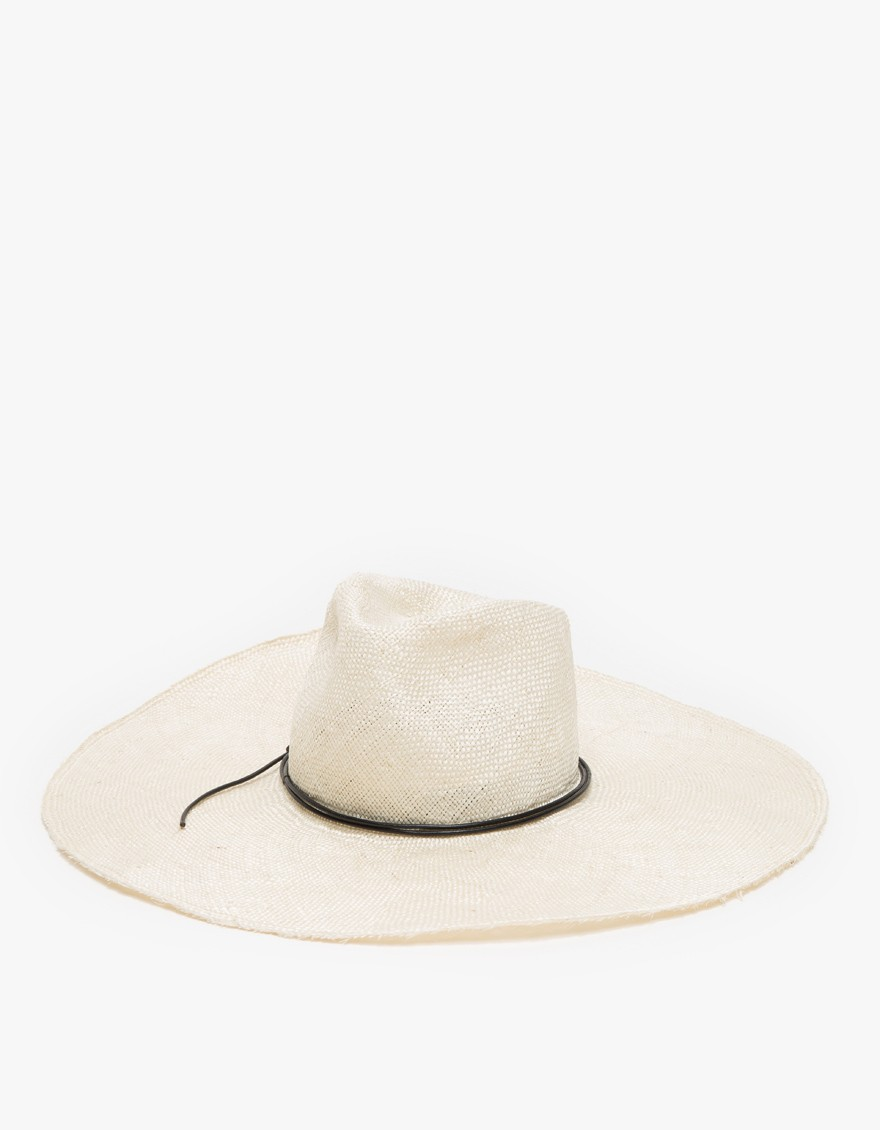 Wakefield Straw Hat by Brookes Boswell