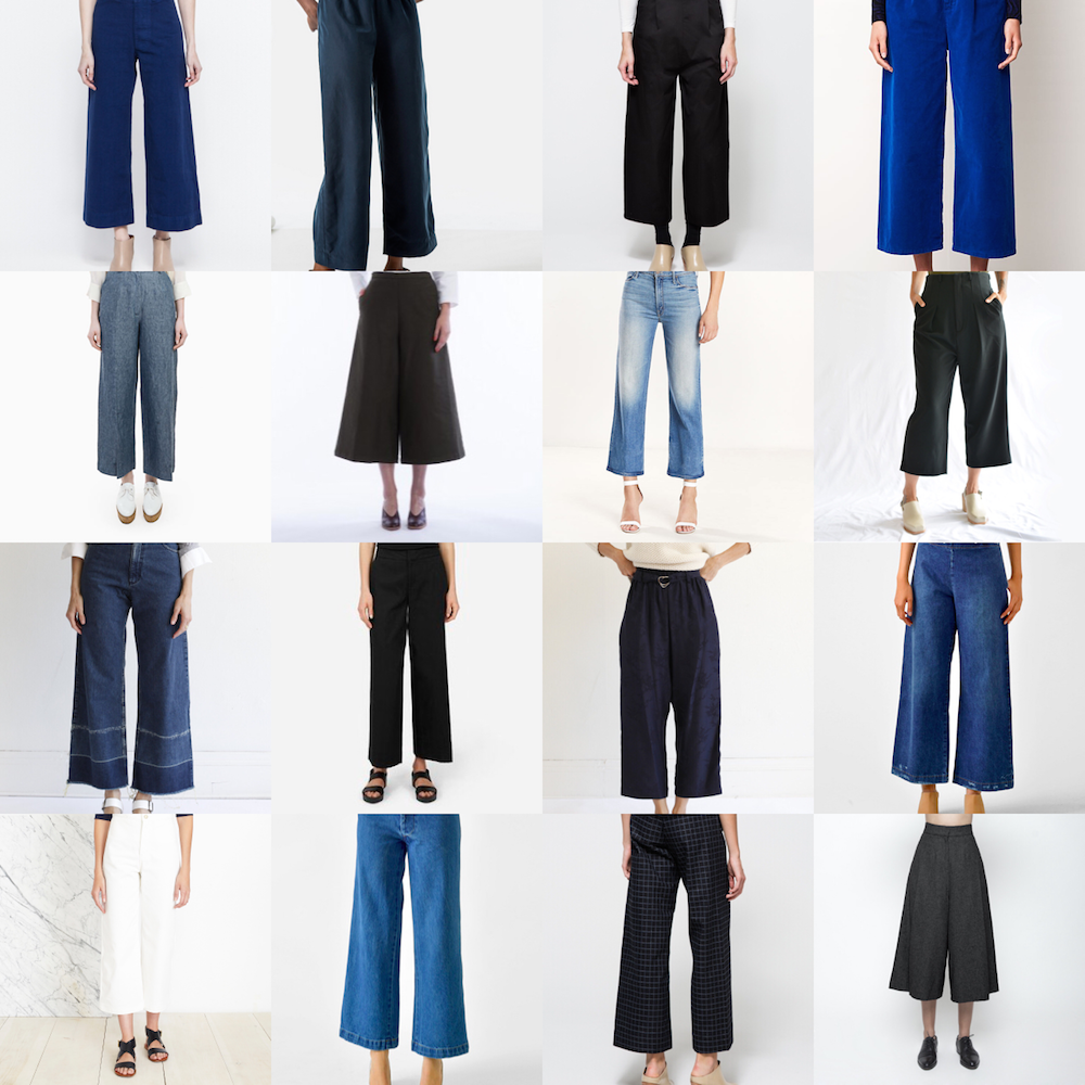 Shopping List: Cropped Pants