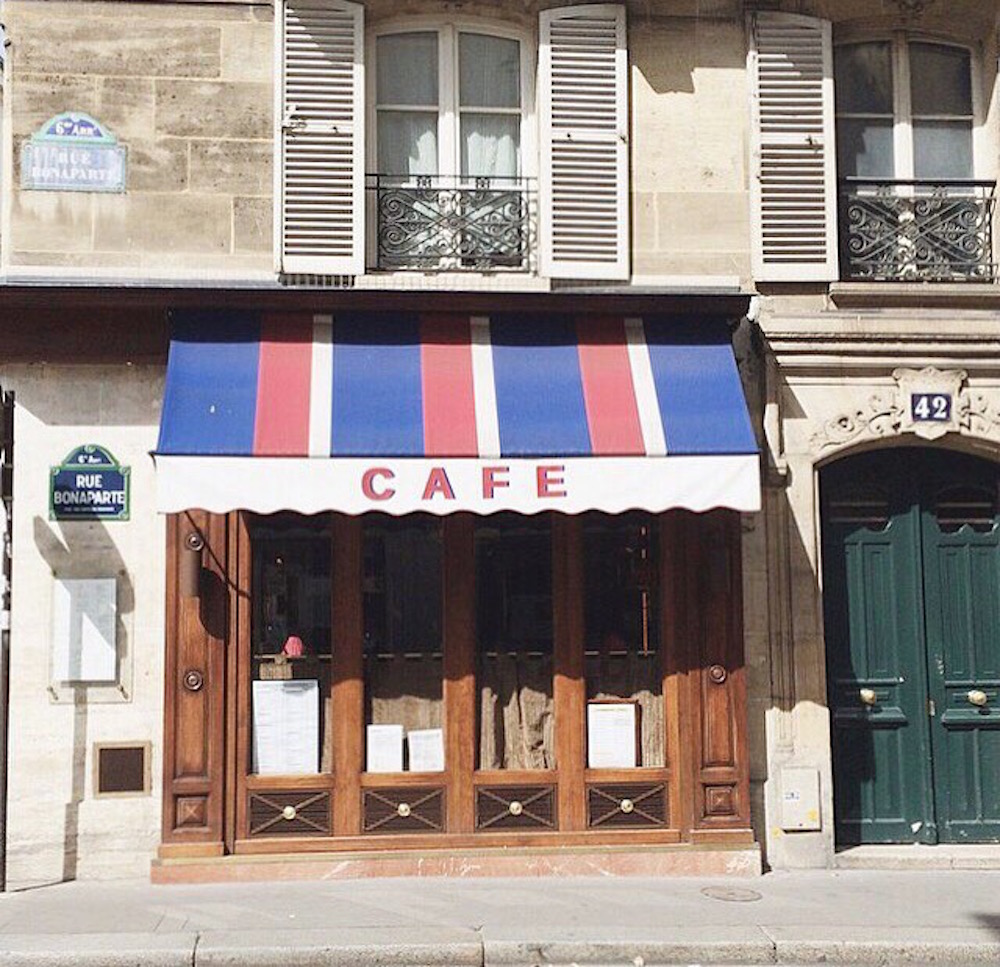 Paris cafe | Second Floor Flat