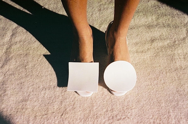 Jacquemus Rond Carre Heels