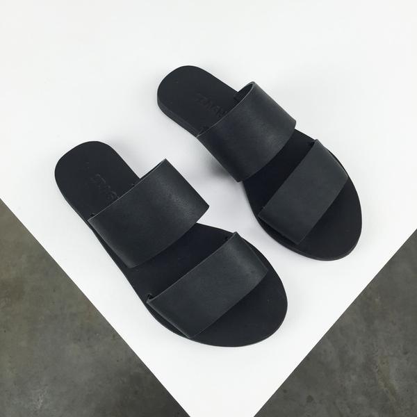 St. Agni Keiki Double-Strap Sandals
