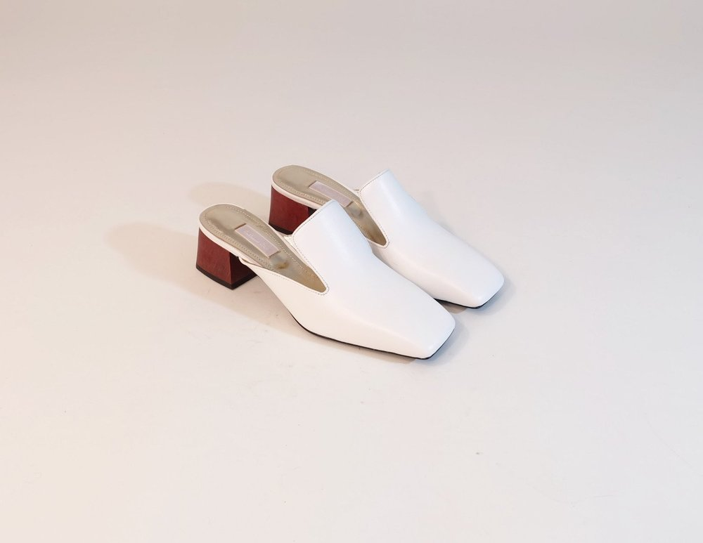 Nappa Mules by Suzanne Rae