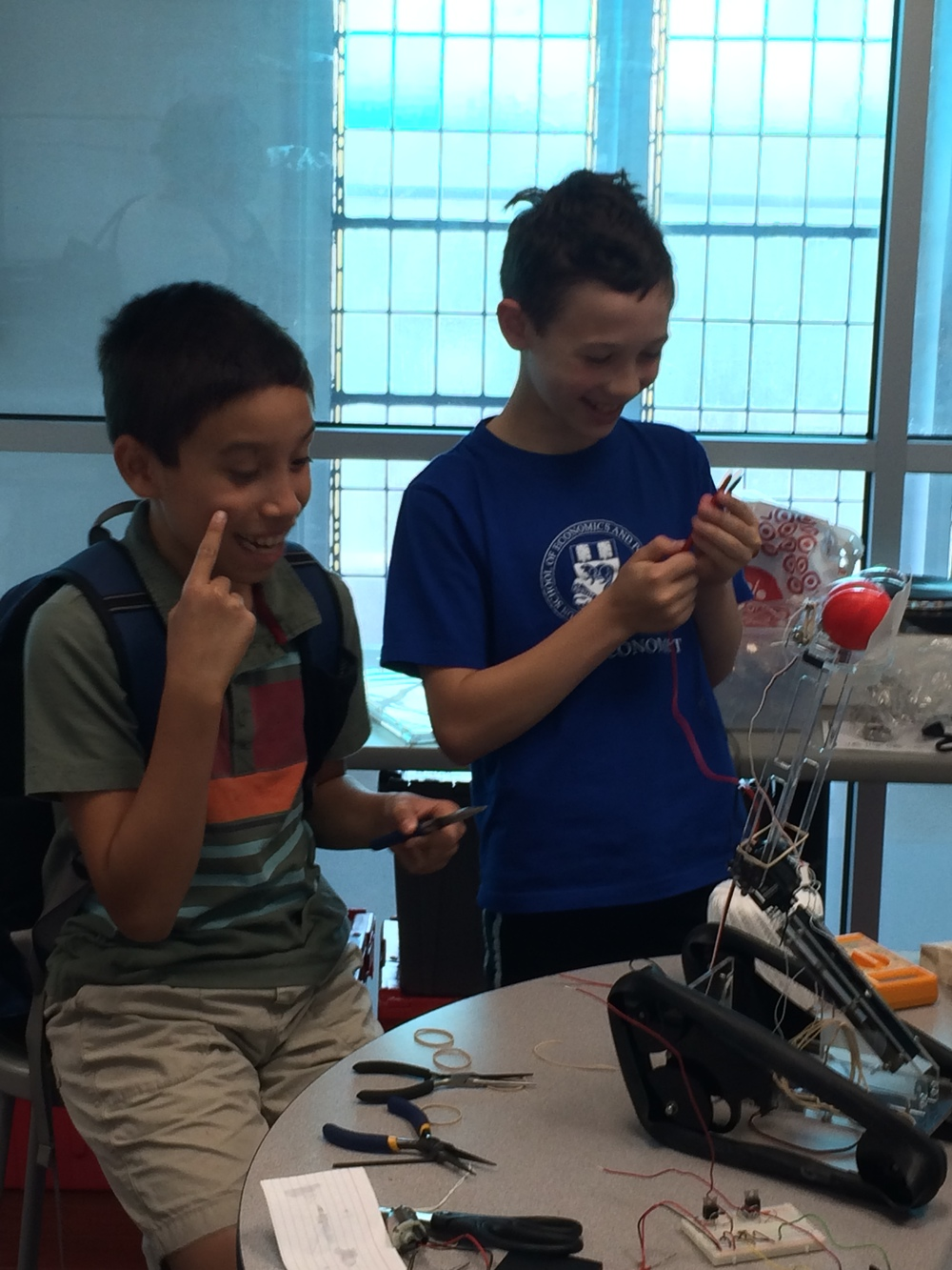 Summer Robotic Arm and 3D Printing 158.JPG