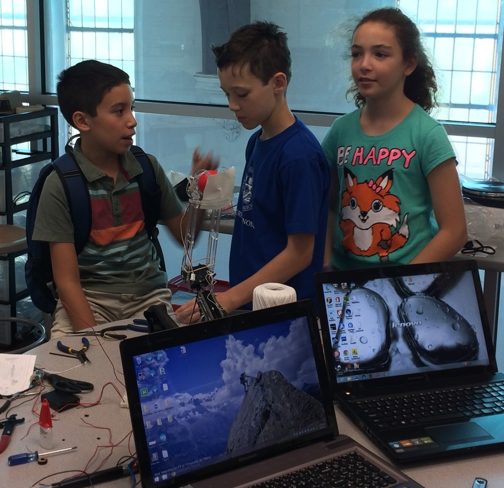 Summer Robotic Arm and 3D Printing 147.JPG