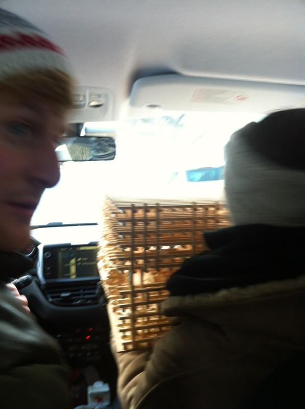 Trangt i bilen frå Oslo til Rjukan
